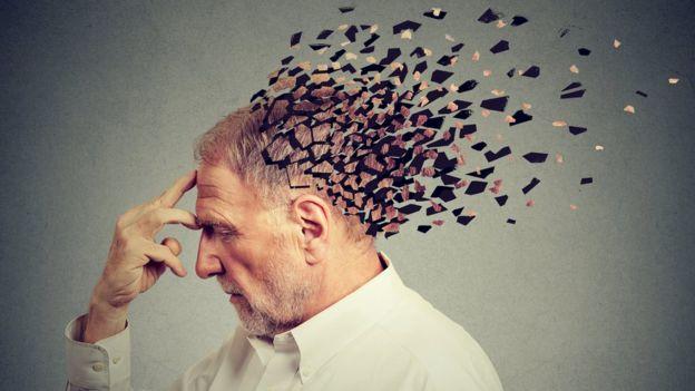 person losing memory