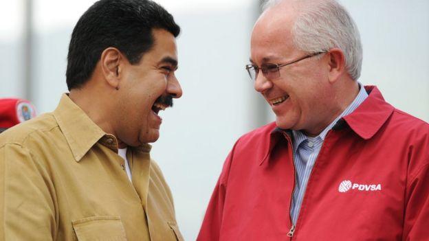Maduro con Rafael Ramírez en 2013.