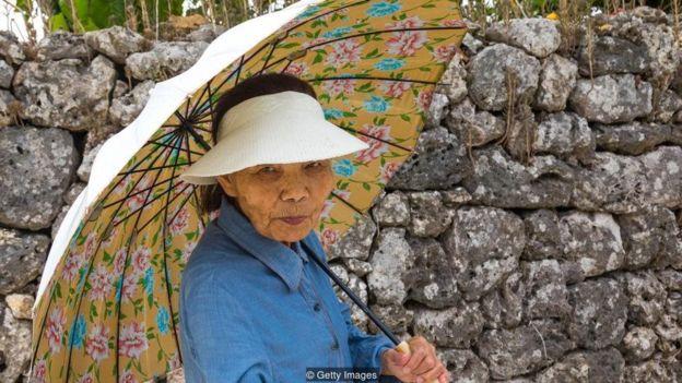 Moradora de Okinawa