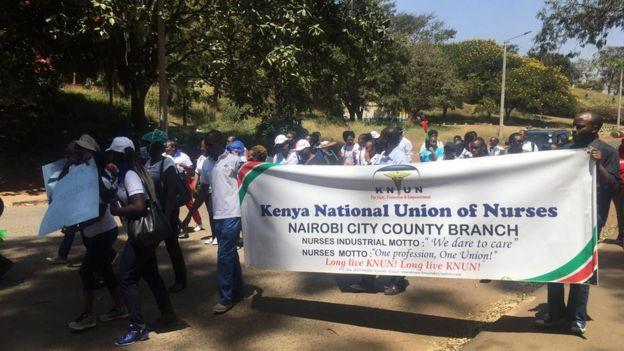 Mgomo wa wahudumu katika Kaunti ya Nairobi
