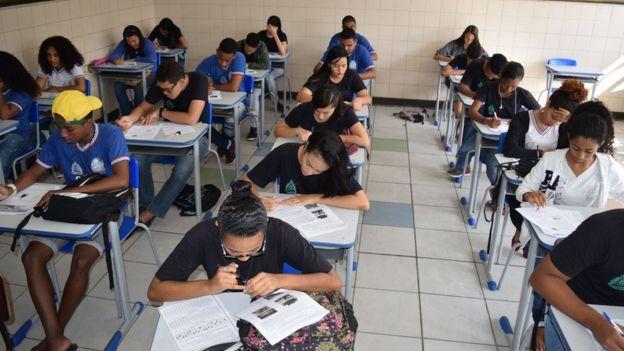 Simulado do Enem na Bahia