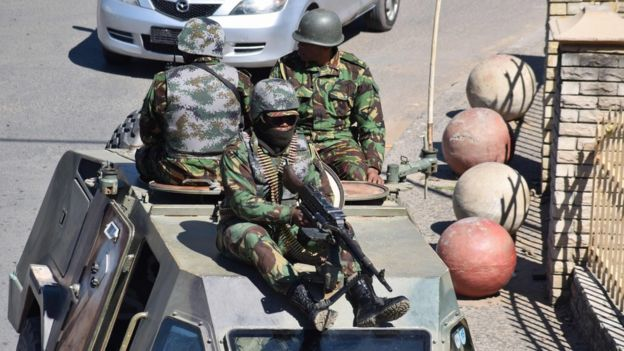 Army in Lesotho