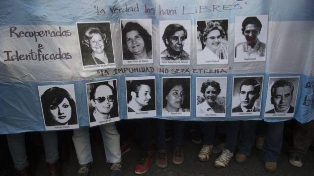 Protesta Madres de la Plaza de Mayo