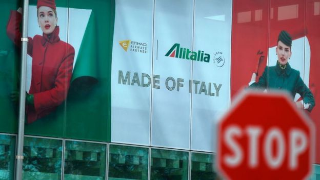 Alitalia Made of Italy poster