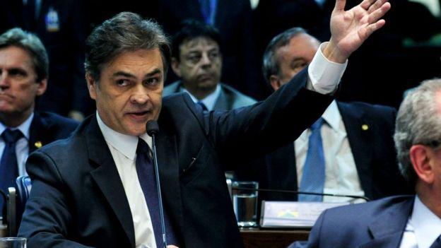 Cássio Cunha Lima no senado