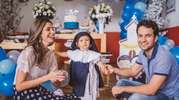 Festa de aniversário de filha de Mauro