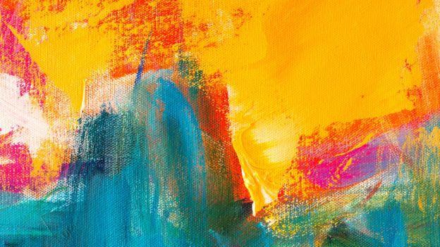 Pintura abstracta.
