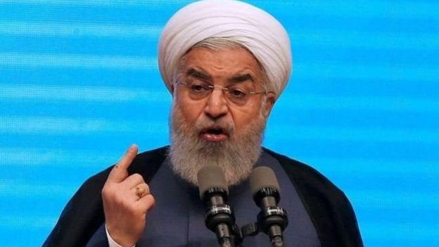 """الرئيس الإيراني حذّر من """"عواقب وخيمة"""" إذا أعادت واشنطن فرض العقوبات"""
