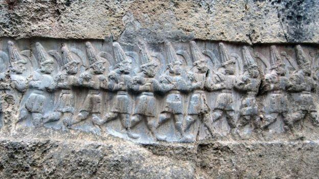 Área restaurada no Império Hitita