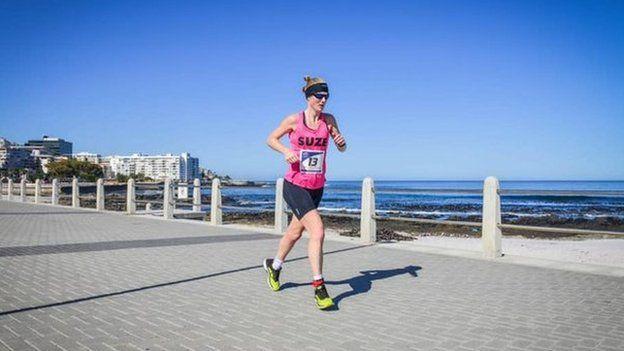 Susannah Gill en Ciudad del Cabo.