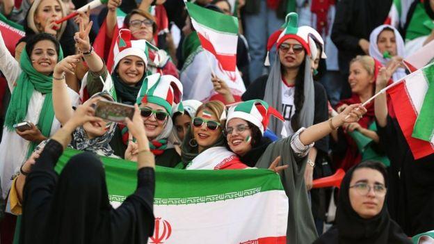 Image result for حضور زنان در ورزشگاه آزادی
