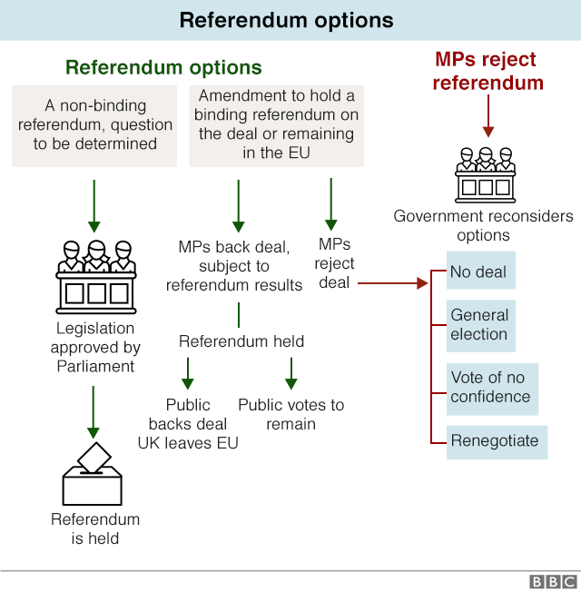 Chart on how there could be a referendum
