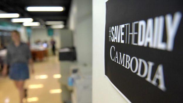 Nhật báo Cambodia Daily bị đóng cửa từ tháng 9 do một tranh chấp về thuế với chính phủ