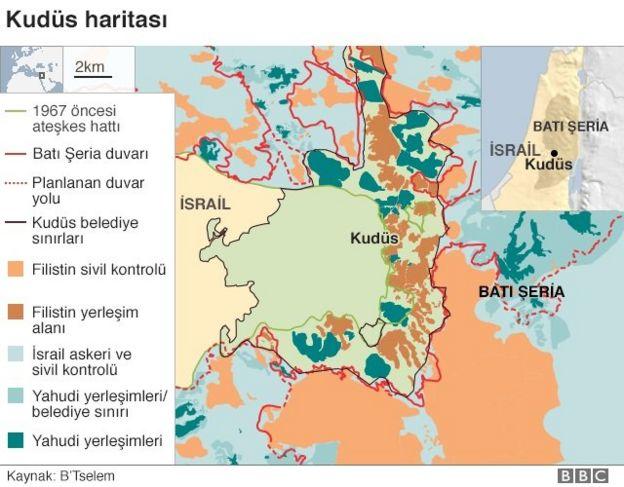 Kudüs haritası