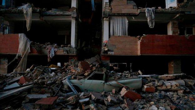 زلزله در سرپل-استان کرمانشاه