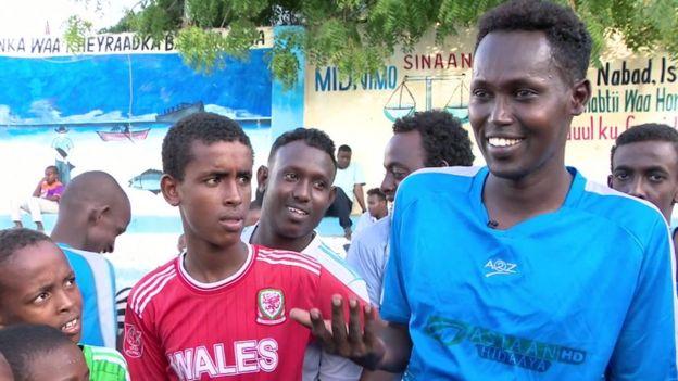 Abdunnasin Mohamed, capitaine de l'équipe