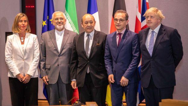 ظریف و دیپلماتهای ارشد اروپایی