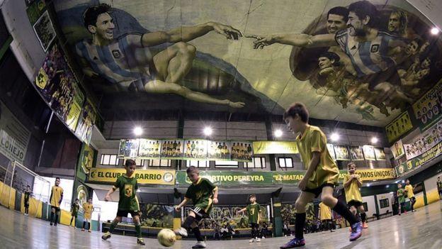 Mural en Buenos Aires.