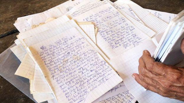 Có gần một trăm đơn từ tường trình, khiếu nại các vụ việc mà người dân cho là sai phạm của các quan chức Campuchia và tỉnh Hội người Campuchia gốc Việt tỉnh Siem Reap