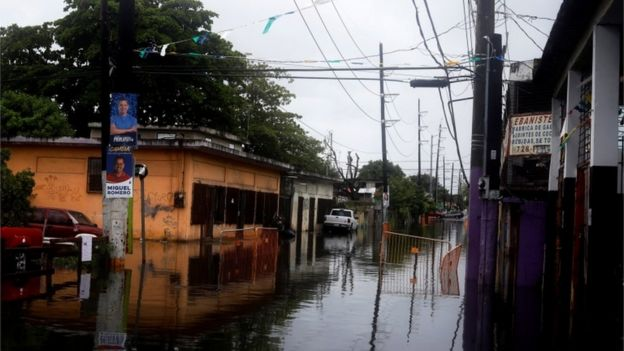 Flooding in Puerto Rico