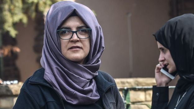 Sa fiancée turque, Hatice Cengiz.