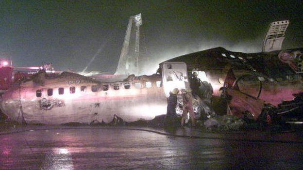 طائرة الخطوط الجوية السنغافورية Getty Images
