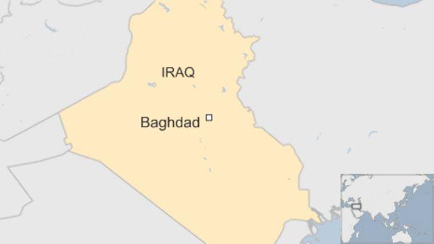 Baghdad map`