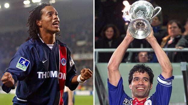 Ronaldinho y Raí