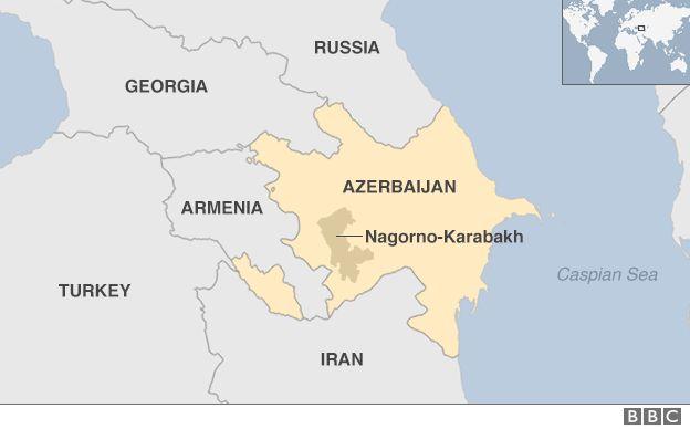 NagornoKarabakh Fighting mood grips Armenians BBC News