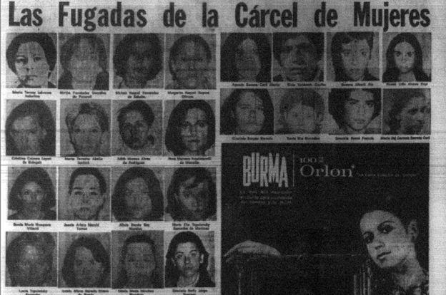 Las fotos de las fugadas en el periódico El Diario