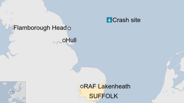 UASF jet crash Yorkshire