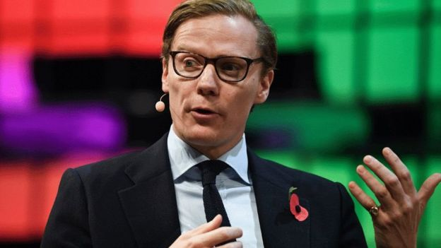 Alexander Nix speaking