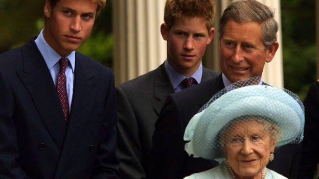 Принц Гарри с семьей