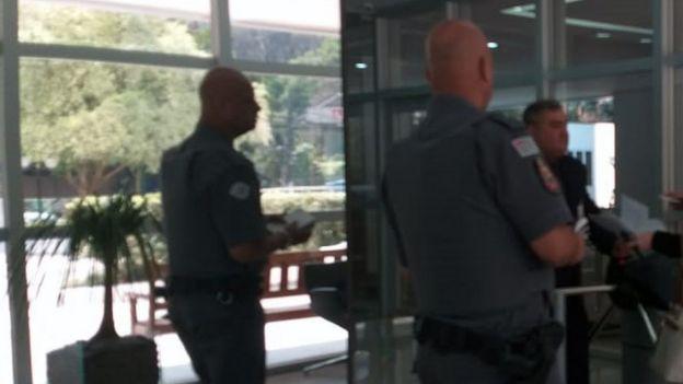 Polícia Militar foi chamada duas vezes para a sede da Atlas Quantum na semana passada