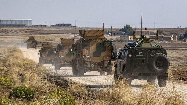 Rusya ve Türkiye orduları, Suriye'nin kuzeyinde ortak devriye görevi yürütüyor