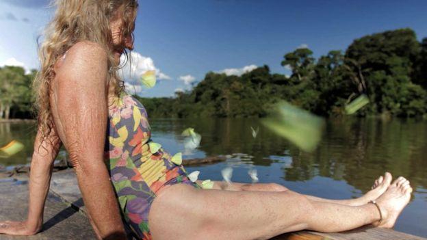 Valerie Meikle es una defensora de la libertad y la felicidad a ultranza. BBC Mundo