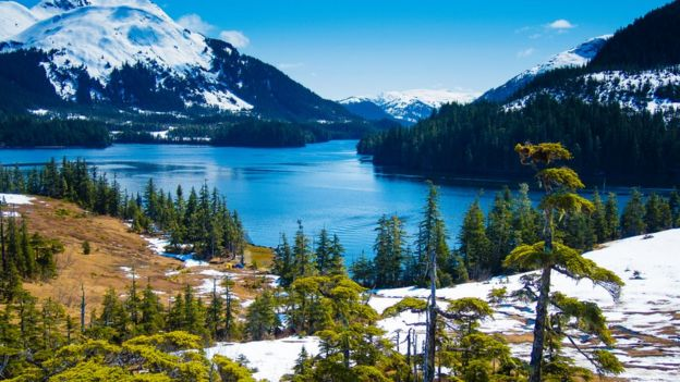 Alaska agua.