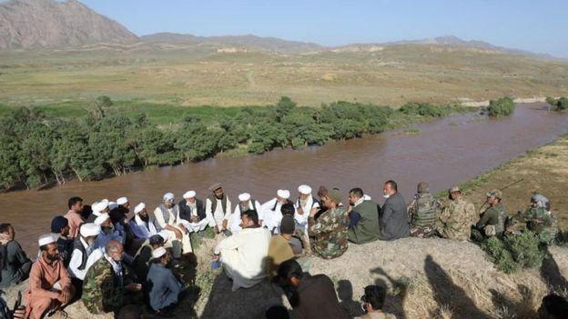 حادثه به گفته مقام های افغان در این رودخانه مرزی اتفاق افتاده است