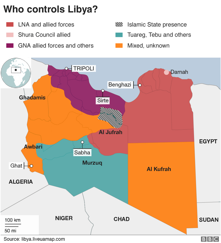 Libya rivals agree 'historic' election plan - BBC News