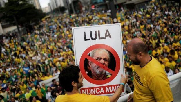 Simpatizantes de Bolsonaro