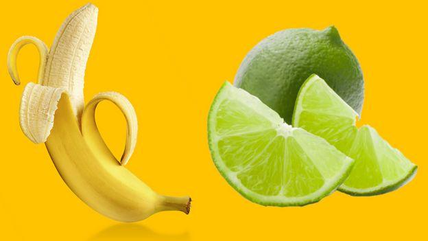 Banana e limão