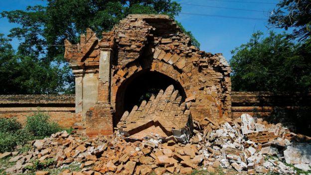 Image result for 2016 myanmar earthquake