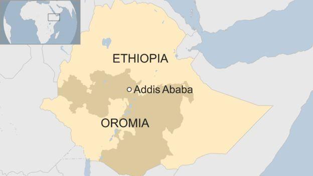 La région Oromia d'où est originaire le nouveau Premier ministre