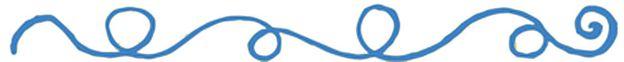 línea azul