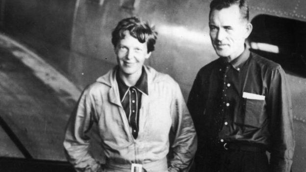 Amelia Earhart e Fred Noonan