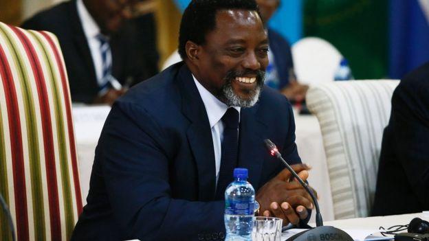 EMMANUEL RAMAZANI SHADARI KUMRITHI RAIS JOSEPH KABILA CONGO