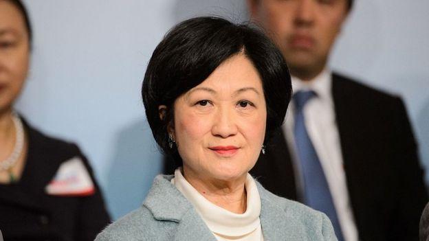 新民党主席叶刘淑仪