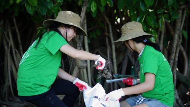 Một hoạt động của Keep Hanoi Clean