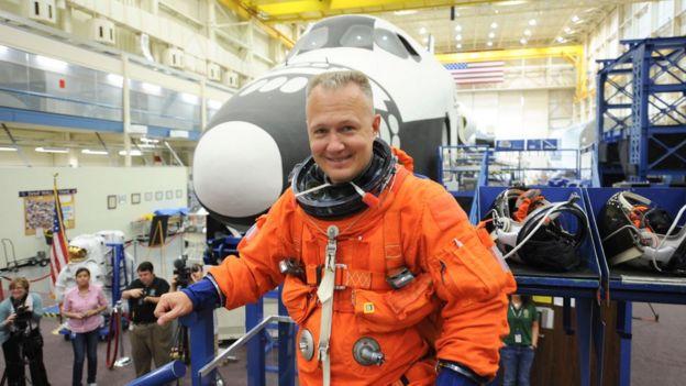 Doug Hurley en mayo de 2011