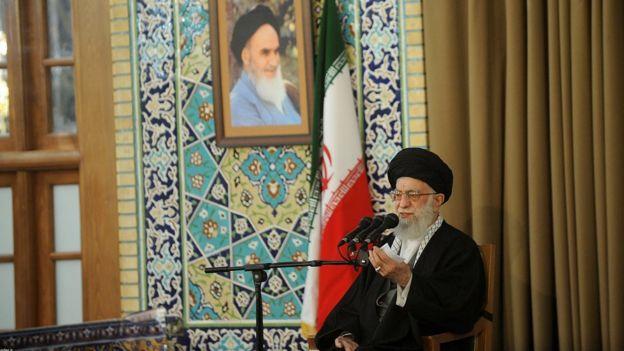 El ayatolá Ali Jamenei